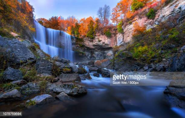 webster's falls - the webster stock pictures, royalty-free photos & images