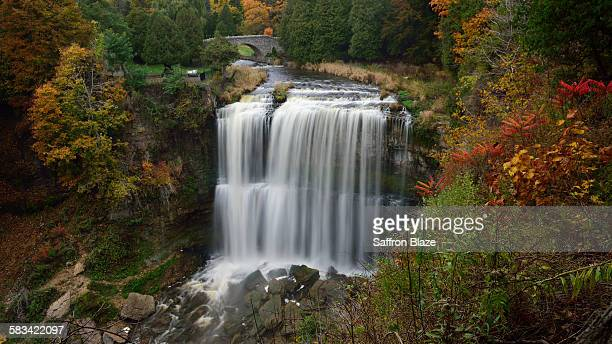 Webster's waterfall in the Autumn