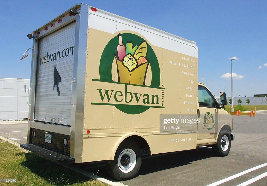 Webvan Internet Grocer Files for Bankruptcy : News Photo