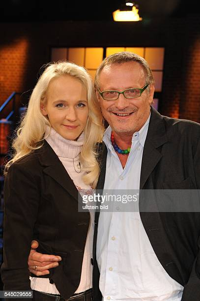 Wecker Konstantin Musician Singer Songwriter Actor Germany with wife Annik