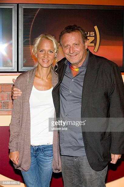 Wecker Konstantin Musician Singer Songwriter Actor Germany with Wife Annik