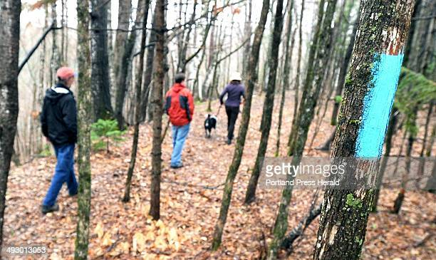 Wed 5//4/11 Ben Godsoe of High Peaks Alliance land trust is leading a effort to build a 40 mile long trail between Strong and Oquossoc where Fly Rod...