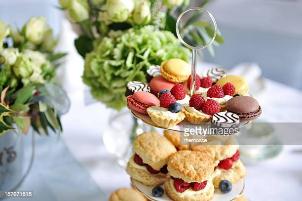 Wedding afternoon tea treats