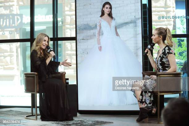 Wedding and fashion designer Pnina Tornai attends Build Series to discuss 'Say Yes to the Dress' and 2019 LOVE Collection' at Build Studio on May 3...