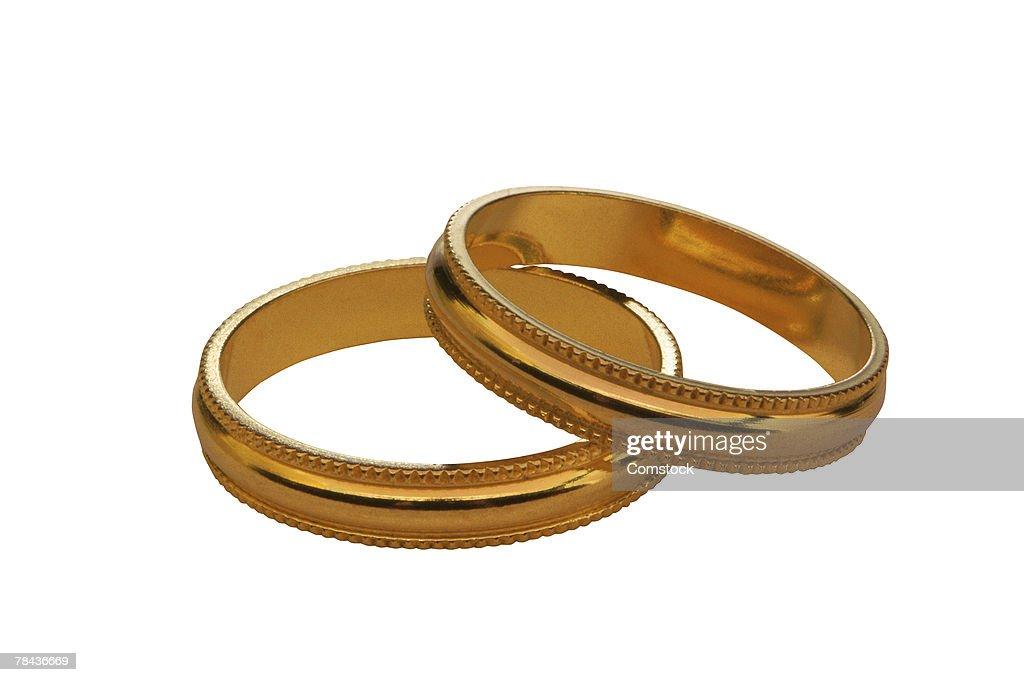Wedding bands : Foto de stock