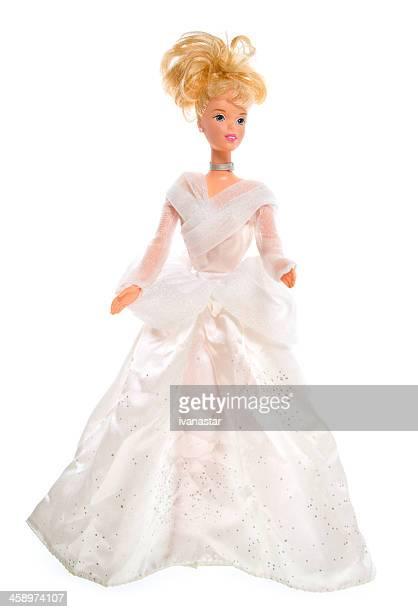 hochzeit in fashon barbie puppe - ganzkörper freisteller editorial stock-fotos und bilder