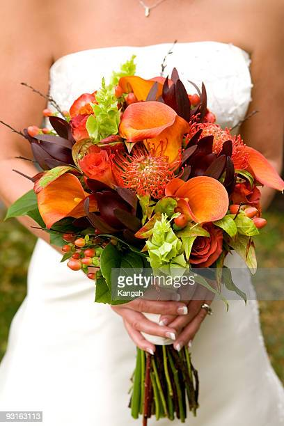 Wedding Bouquet (Fall Colors)