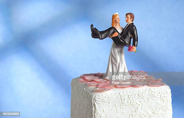 Wedding cake figurine/girl power