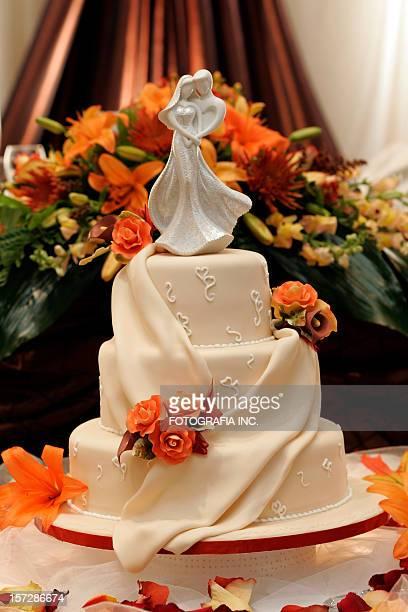 torta nuziale - cerimonia foto e immagini stock
