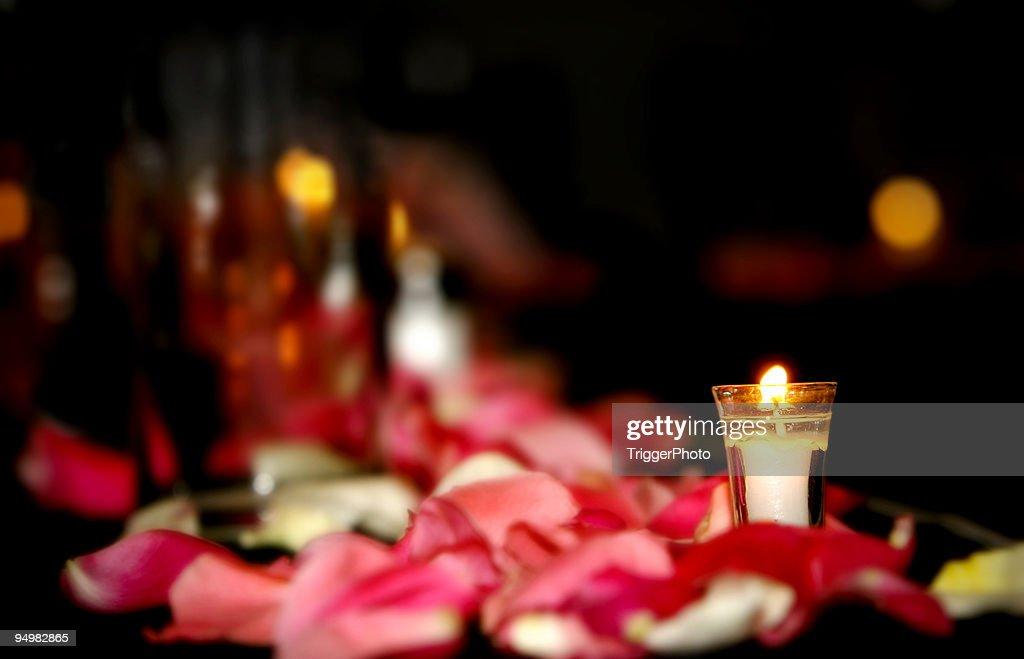 Wedding Candle : Stock Photo