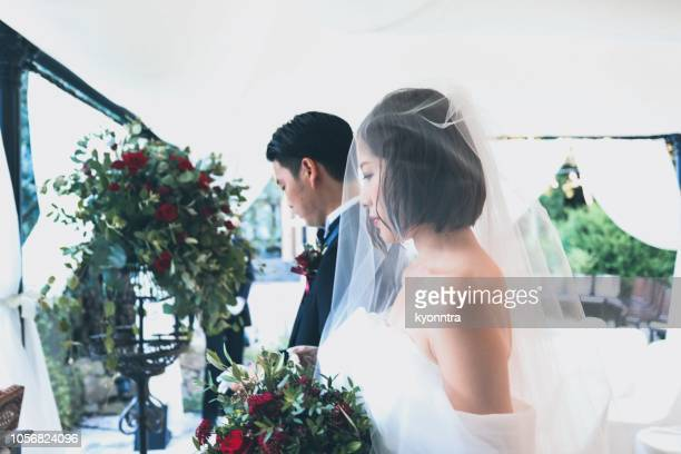 wedding ceremony - kyonntra stock pictures, royalty-free photos & images