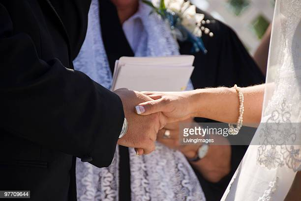 wedding ceremony - wedding vows stock pictures, royalty-free photos & images