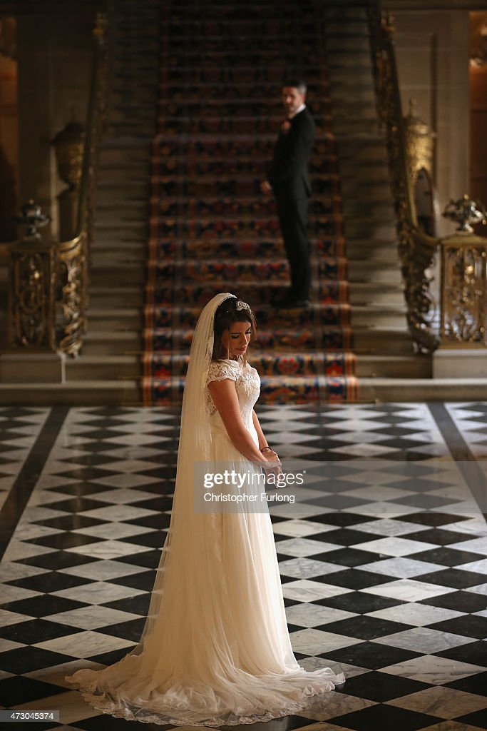 Chatsworth House Opens Its Doors To Weddings : News Photo