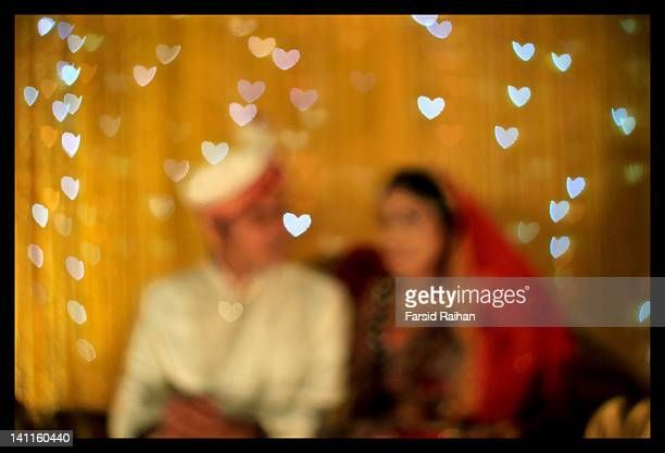 wedding couple - bangladesh photos stock photos and pictures