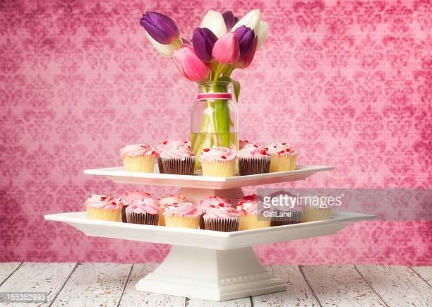 Wedding Cupcake Centerpiece