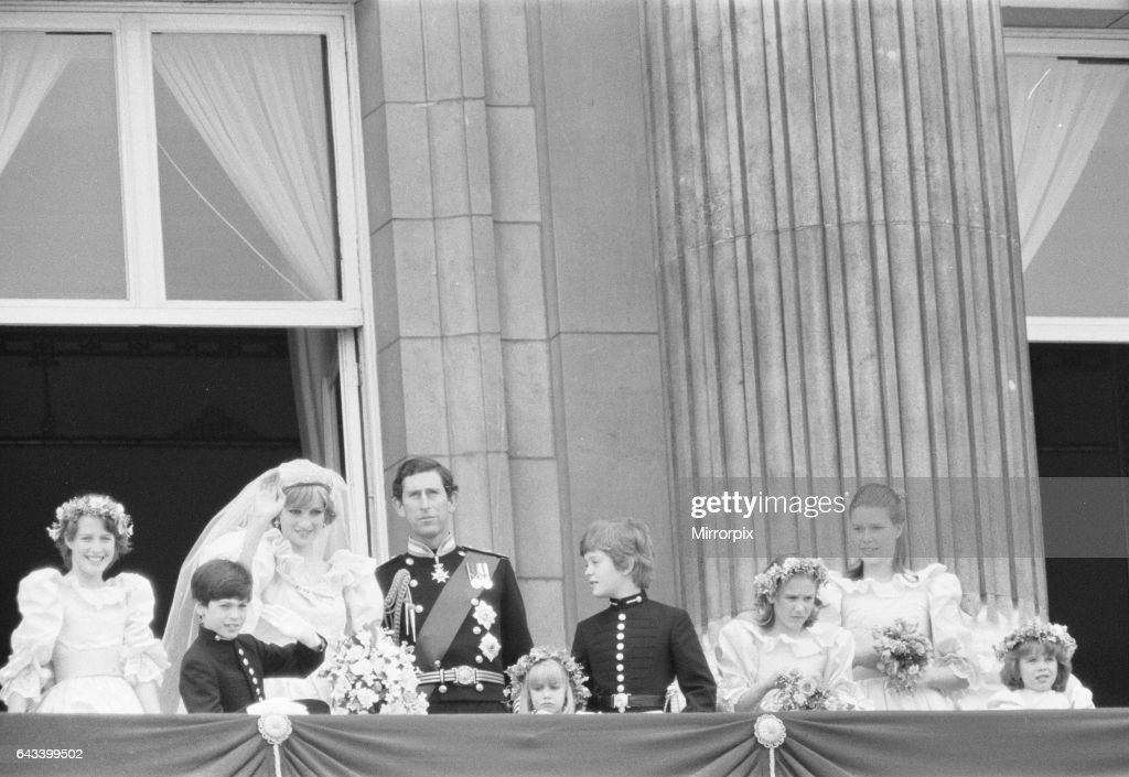 Wedding day of Prince Charles & Lady Diana Spencer, 29t : News Photo