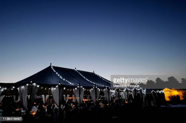 wedding decor . location . - tent stock pictures, royalty-free photos & images