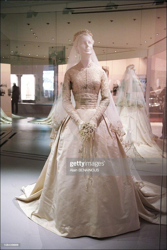 The Exhibition Of Princess Grace Of Monaco In The Grimaldi Forum in ...