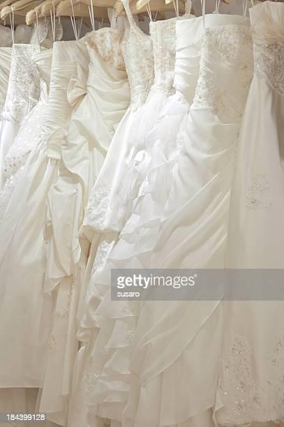 robe de mariée - cérémonie du mariage photos et images de collection