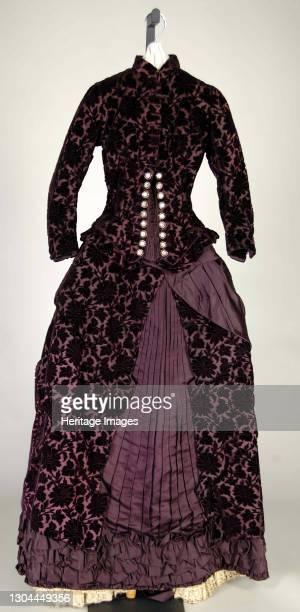 Wedding Dress, probably French, 1881. Artist Unknown.