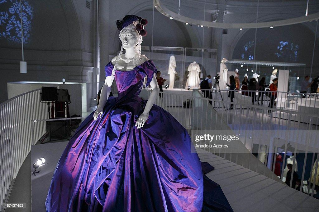 Wedding Dresses Exhibition : News Photo