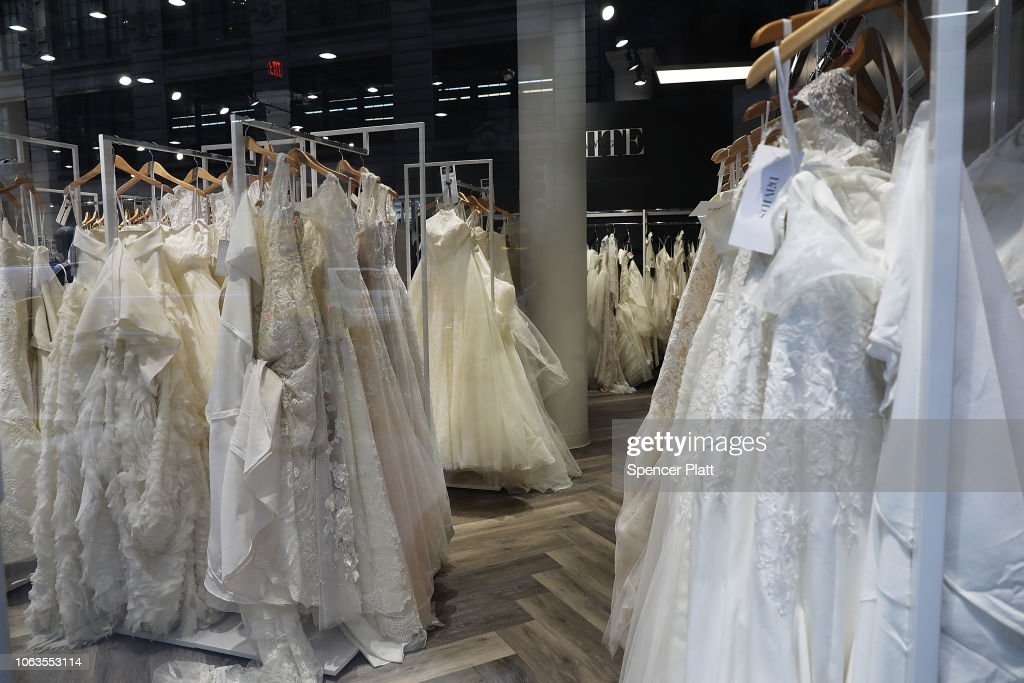 Wedding Retailer David's Bridals Files For Chapter 11  Bankruptcy Protection : News Photo