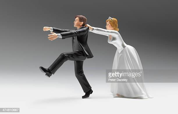 Wedding figurines domination
