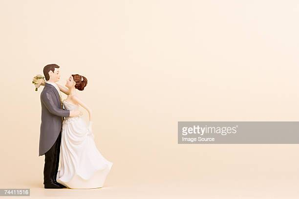 wedding figurines - married stock pictures, royalty-free photos & images