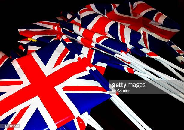 wedding flags - ian grainger stock pictures, royalty-free photos & images