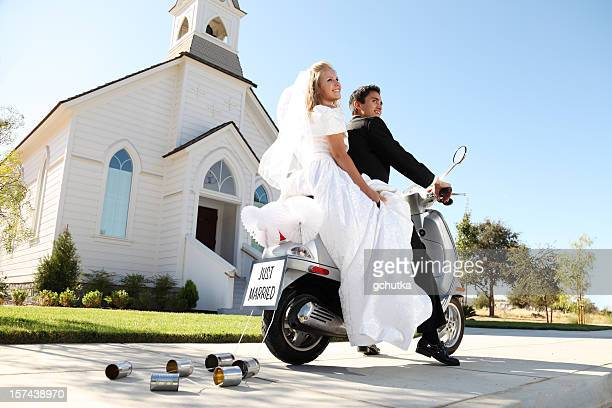 wedding getaway - chapel stock pictures, royalty-free photos & images