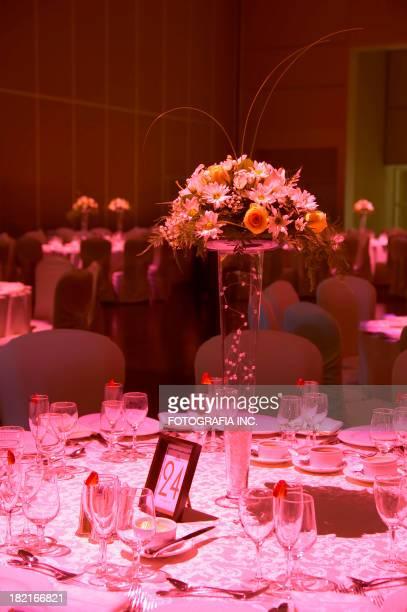 Invitado de boda mesa