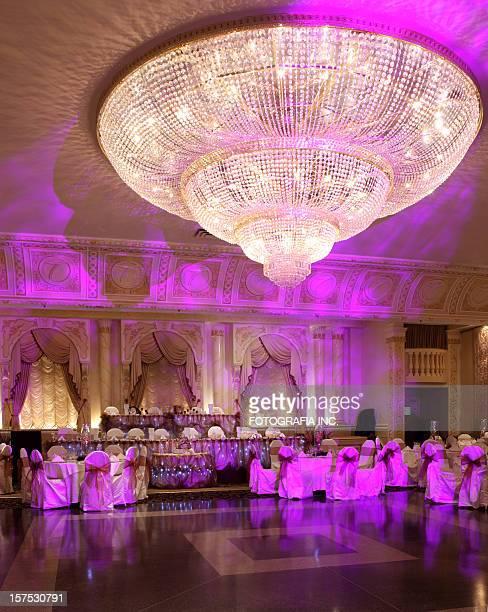 Hall de mariage Avant le dîner