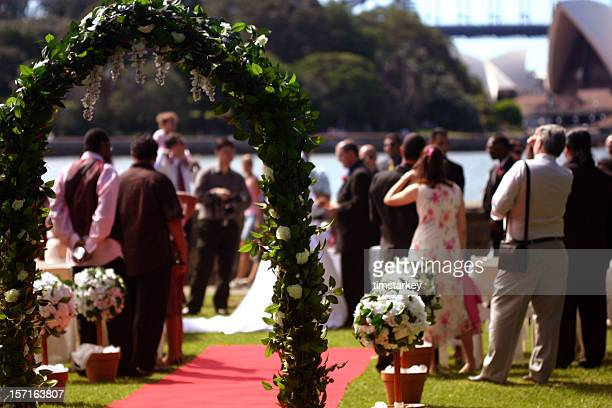 wedding in sydney - wedding ceremony stock pictures, royalty-free photos & images