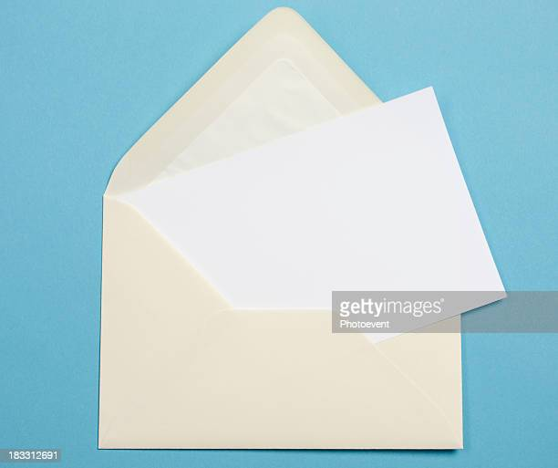 Wedding Invitation envelope for mailing to guests