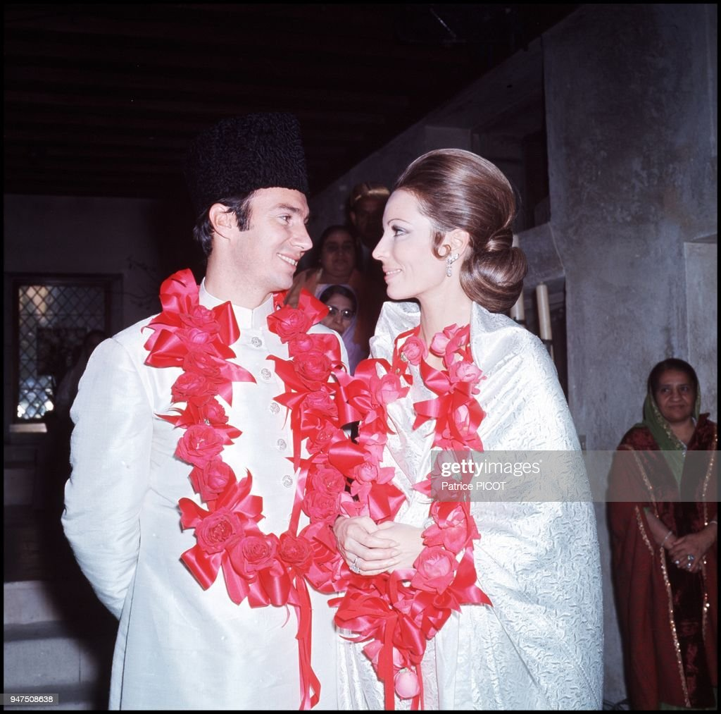ARCHIVES: KARIM ET SALIMA AGA KHAN : News Photo