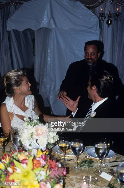 Christie Brinkley Commercial >> Billy Joel Christie Brinkley Wedding Stock Photos and ...