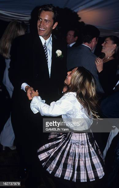 Christie Brinkley Commercial >> Billy Joel Christie Brinkley Wedding Stock Photos and ...