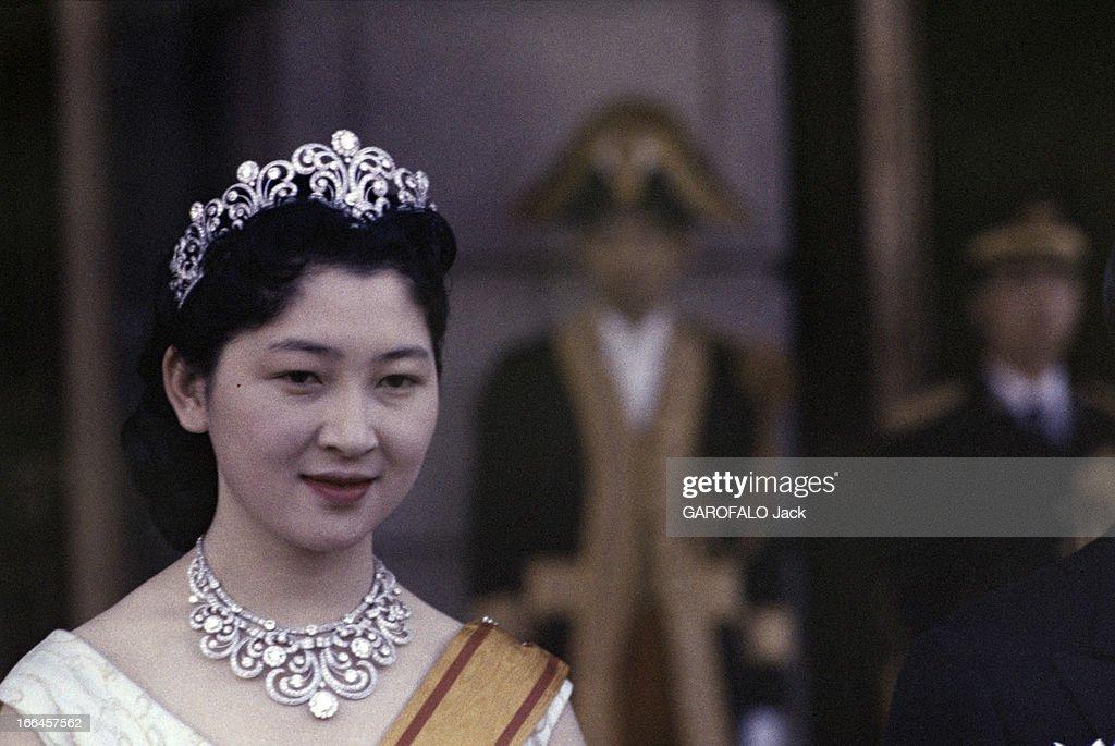 WEDDING OF CROWN PRINCE AKIHITO OF JAPAN WITH MICHIKO SHODA : News Photo