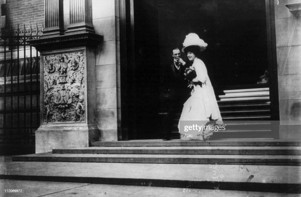 Wedding of Gladys Vanderbilt : News Photo