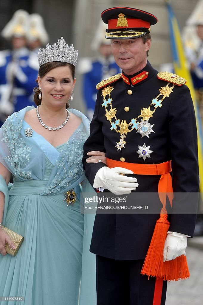 Wedding of H.R.H. Crown Princess Victoria of Sweden and Daniel Westling In Stockholm, Sweden On June 19, 2010- : News Photo