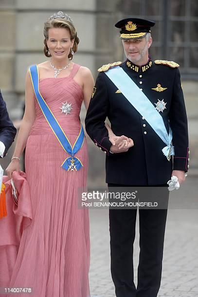 Wedding of H.R.H. Crown Princess Victoria of Sweden and Daniel Westling In Stockholm, Sweden On June 19, 2010-Wedding of H.R.H. Crown Princess...