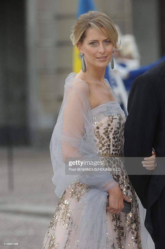 Wedding of H.R.H. Crown Princess Victoria of Sweden and Daniel Westling In Stockholm, Sweden On June 19, 2010- : News Photo