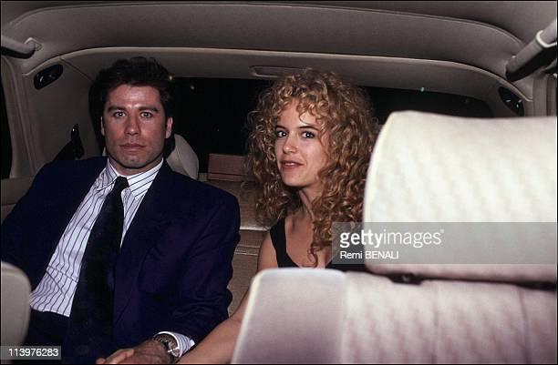 Wedding of John Travolta and Kelly Preston In Paris France On September 06 1991