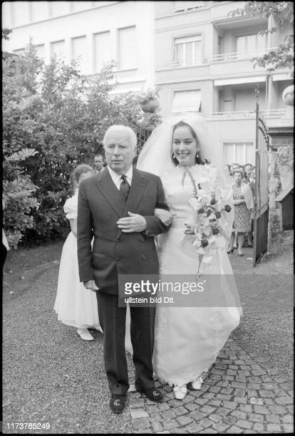 Wedding of Josephine Chaplin daughter of Charles 1969