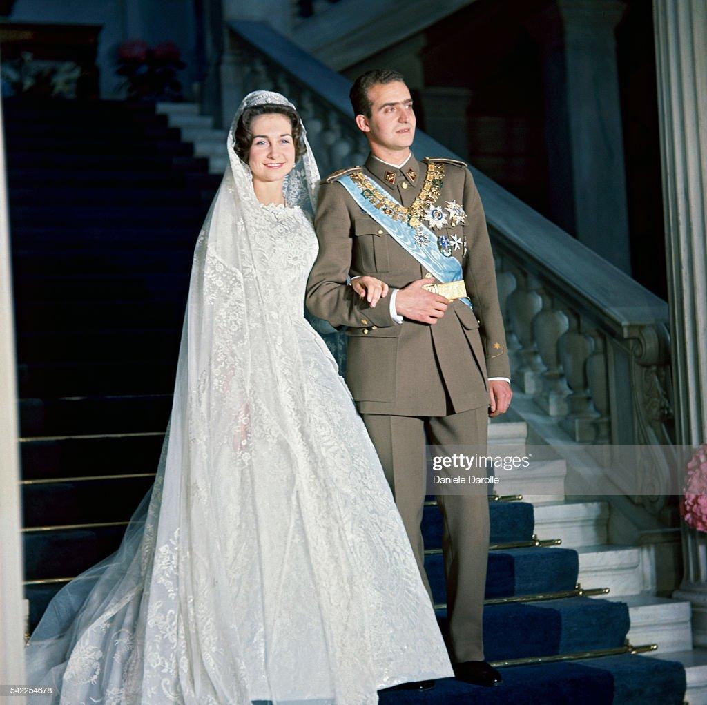 Wedding of Juan Carlos of Spain to Princess Sofia of Greece : News Photo