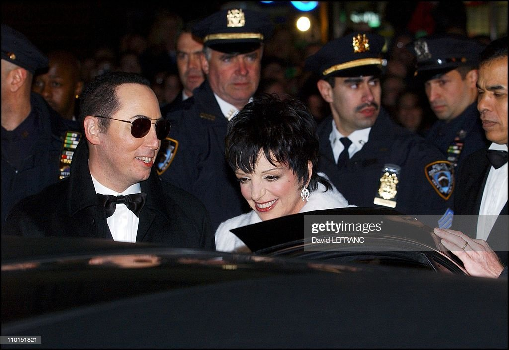 Wedding of Lisa Minelli and David Gest in New York, United States on March 16, 2002. : News Photo