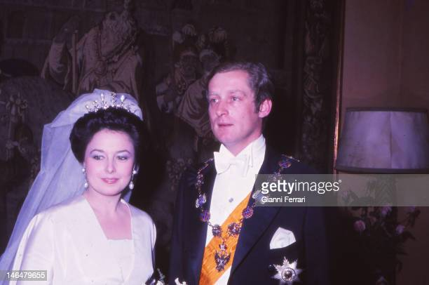 Wedding of Maria Vladimirovna daughter of Grand Duke Vladimir Kirillovich Romanov head of the Russian imperial dynasty with the Prince William of...