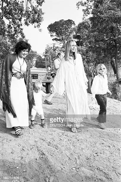 Wedding Of Mick Jagger And Bianca Morena Perez De Macias In Saint-tropez. A Saint-Tropez, dans un parc, lors du mariage de Mick JAGGER et de Bianca...