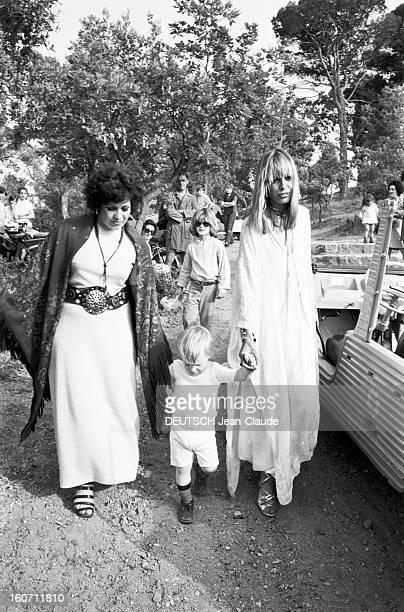 Wedding Of Mick Jagger And Bianca Morena Perez De Macias In Sainttropez A SaintTropez dans un parc lors du mariage de Mick JAGGER et de Bianca PEREZ...