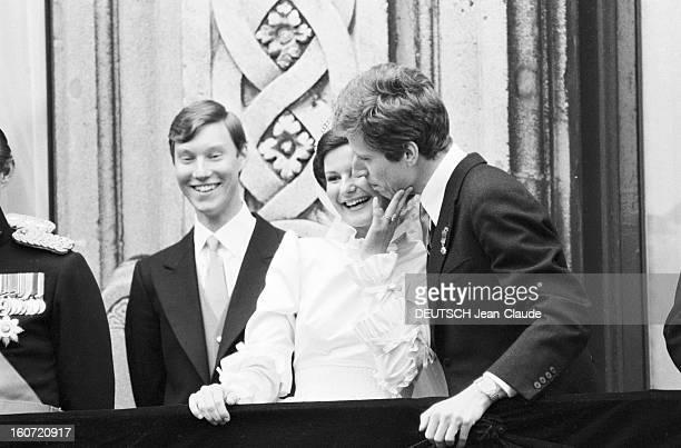 Wedding Of Nicolas De Liechtenstein And Margaretha De Luxembourg Luxembourg 20 mars 1982 mariage du Prince Nicolas DE LIECHTENSTEIN et de la...